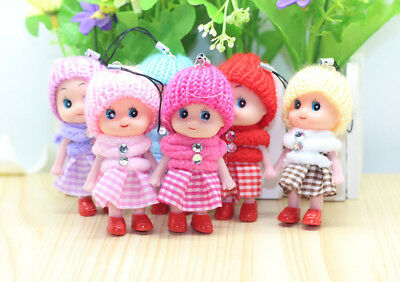 1/5Pcs Kids Toys Soft Interactive Baby Dolls Toy Mini Doll For Girls and Boys