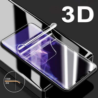 For Samsung Galaxy S9 Plus S8 S7 Edge Screen Cover 3D Full Body Films Protector