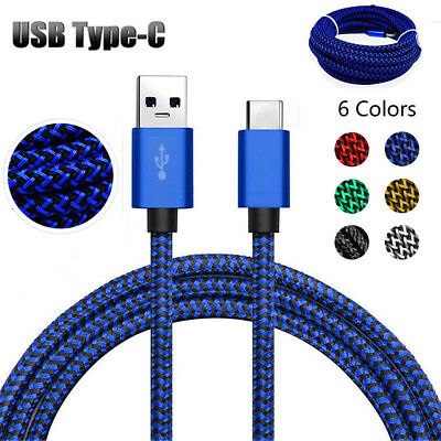 1M~ 3.0M Long Type C USB Data Sync Charger Cable Lead For Samsung Android Phones