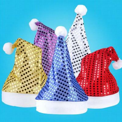 ADULT SIZE CHRISTMAS Hats Funny Novelty Father Xmas Santa Party ... 080e5795feb7