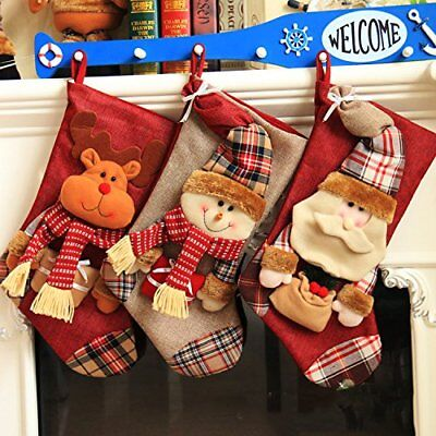 Peicees 18 Extra Large Clic Lique Style Felt Christmas Stockings For