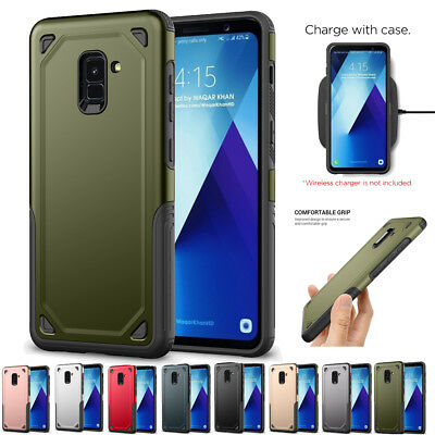 Hybrid Armor Defender Protective Case Cover For Samsung Galaxy A6/A8 J6/J8 2018