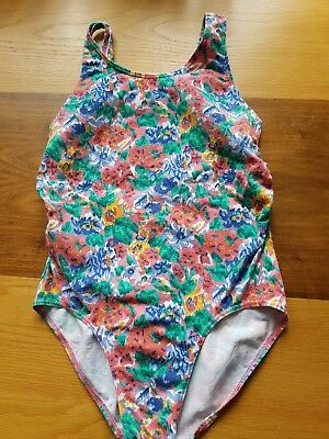 Ladies Maternity Swimsuit/costume Emma-Jane Mixed Floral Immaculate  Uk Size 14