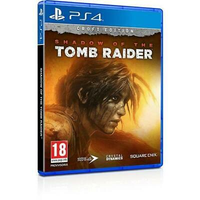 Shadow Of The Tomb Raider Croft Collector's Edition PS4 PlayStation 4