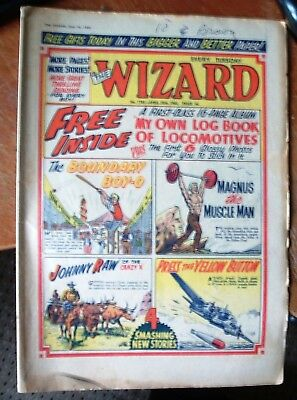 THE WIZARD COMIC # 1785 ~ 30th APRIL  1960