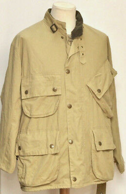 Great Men E15 International Barbour Waterproof And Breathable Jacket Size 42