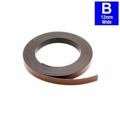 MagFlex® 12.7mm Wide Flexible Magnetic Tape - Self Adhesive - Polarity B (5M)