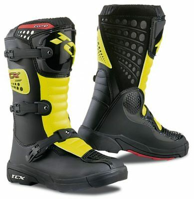 Stivale Cross  Tcx Bambino Comp Kid Black/yellow Fluo