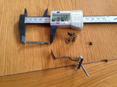 Original Vintage Mantel Clock Parts.     (C)
