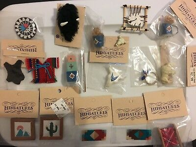 DH Miniature Southwest, Native American Assorted Lot #2