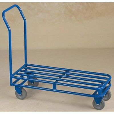 Dutro 4 Wheel Stocking Cart, Blue, Full Size