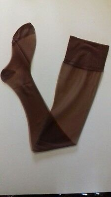 Vintage Nylon Stockings Size 9. 5 Nylons  Private Listing Chocolate