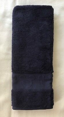 Disney Parks Mickey Icon Resorts Hand Towel in NAVY New With Tags