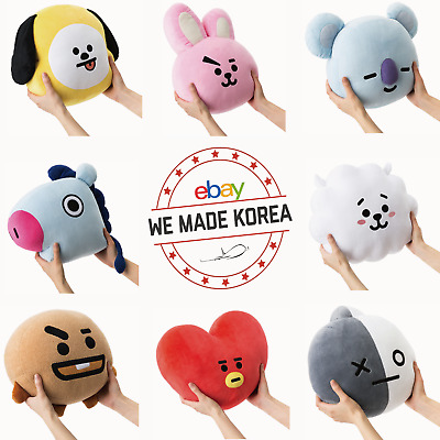 BTS BT21 Plush Cushion Pillow 30cm(11.8 inches) Official K-Pop Authentic Goods