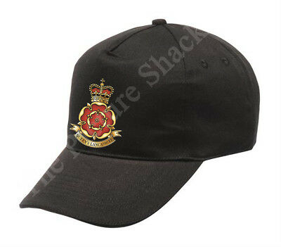 CAP. QUEENS LANCASHIRE REGIMENT CAP BADGE PRINTED ON A BEANIE HAT