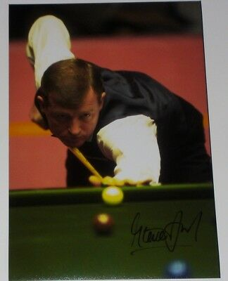 Steve Davis Snooker Autograph Personally Hand Signed 12X8 Photo