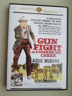 "DVD ""Gunfight At Comanche Creek"" starring Audie Murphy"