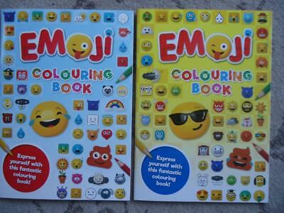 One A4 Emoji Colouring Book - Girls And Boys Activity Fun