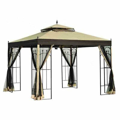Sunjoy 10 x 10 ft. Replacement Canopy Cover for L-GZ038PST-3 - Arrow Gazebo