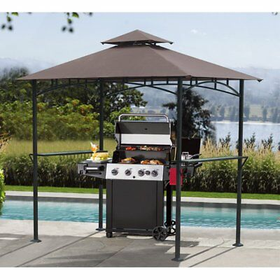 Sunjoy 5 x 8 ft. Replacement Canopy Cover for L-GZ238PST-11F Grill Gazebo