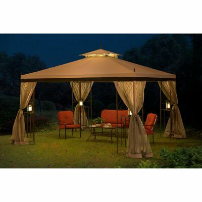 Sunjoy 10 x 12 ft. Replacement Canopy Cover for L-GZ288PST-4H - Parlay Gazebo