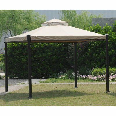 Sunjoy 10 x 10 ft. Replacement Canopy Cover for L-GZ526PST- Everton Gazebo