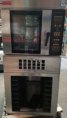 Gas Convection Rack Oven with Steam made by World Seiki