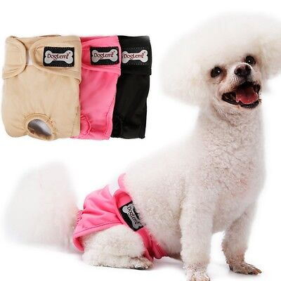 Pet Dog Physiological Pants Diaper Panties Underwear Washable for Female Dog Lot