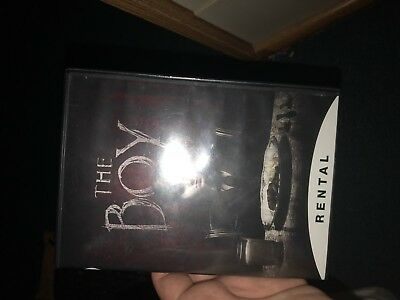 The Boy (2016 DVD)!!FREE FIRST CLASS SHIPPING !! DVD IN PERFECT CONDITION! DISC