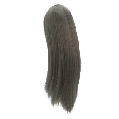 "37cm Fashion Flaxen Straight Long Hair Wig for 18"" American Girl Doll Making"