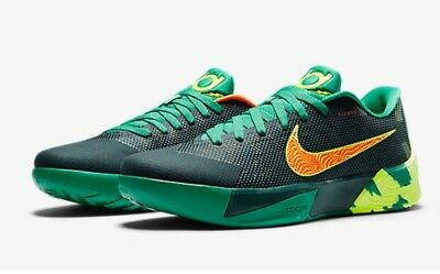 new product fde56 23c06 NIKE KD TREY 5 Ii Flywire Dark Emerald Green-Orange Sneakers Sz 8  (653657-378)