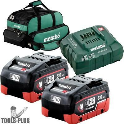 Metabo US625369002 LiHd Ultra-M Pro Cordless Starter Kit w/ 2x 8ah + Charger New