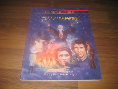 Star Wars Heir to the Empire Sourcebook West End Games 1992 HC G