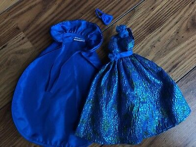 1984 Barbie Oscar De La Renta Evening Gown & Cape W/purse