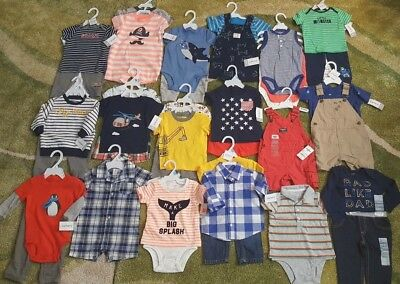 Carters Baby Boys Clothes Bundle Set 6 Month Outfit Clothing NWT