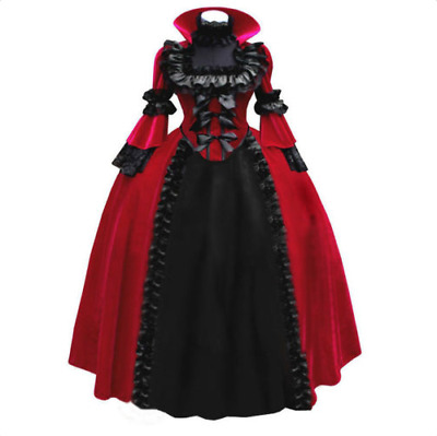 2XL Queen of Hearts / Edwardian / Victorian Gothic Full-length Gown
