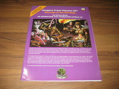 DCC Dungeon Crawl Classics #27 Revenge of the Rat King SC 2006 Goodman Games VG