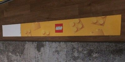 Lego 4Ft Double Sided Sign Toysrus Sign