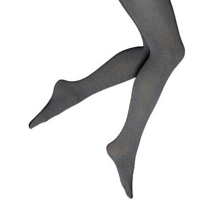 c9f0f43063dd3 NEW Simply Vera Wang OPAQUE Control Top TIGHTS Slimming GRAY Heather Solid  Color