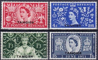 Great Britain - Morocco Agencies Scott 579-582 - Complete Mlh Set - Look!