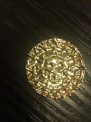 Pirates of the Caribbean Aztec coin Disney Store Display Prop