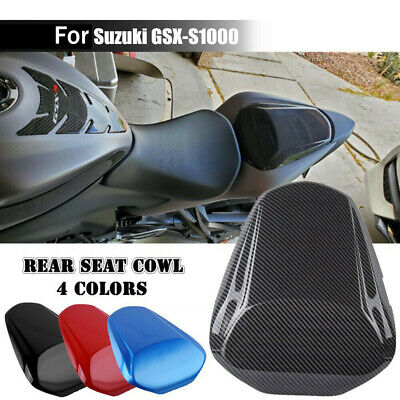 Motorcycle Rear Seat Tail Cover Fairing Cowl ABS For Suzuki GSX-S1000 2016-2018