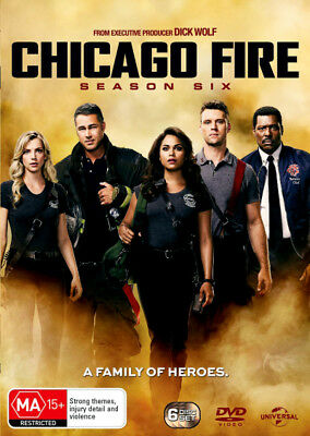 Chicago Fire: Season 6 - DVD (NEW & SEALED)