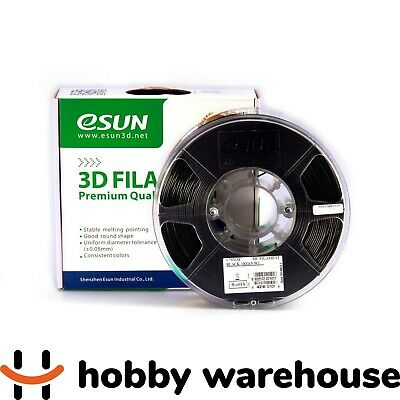 eSUN PLA+ 3D Filament 1.75mm Black 1kg