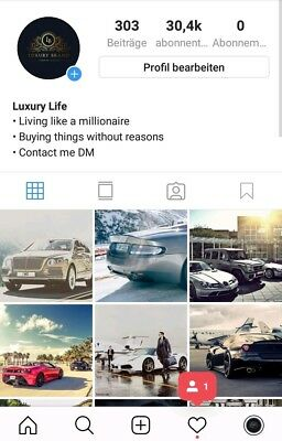 Account Instagram 30K+ BEST PRICE !!