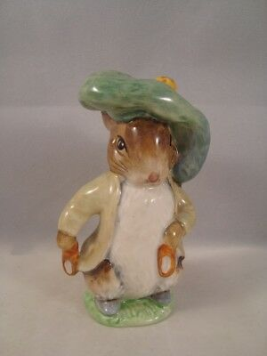 Beswick Beatrix Potter Figure Benjamin Bunny Ears Out Shoes In BP3b Backstamp