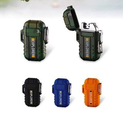 Lichtbogen Feuerzeug wasserdicht - Outdoor Double Arc Lighter waterproof