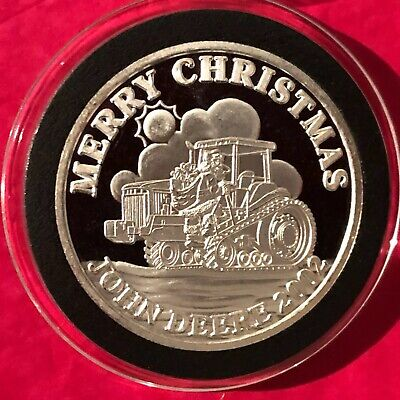 Famous Longhorn Barbecue Spokane 1 Troy Oz .999 Fine Silver Round Coin Medal 999