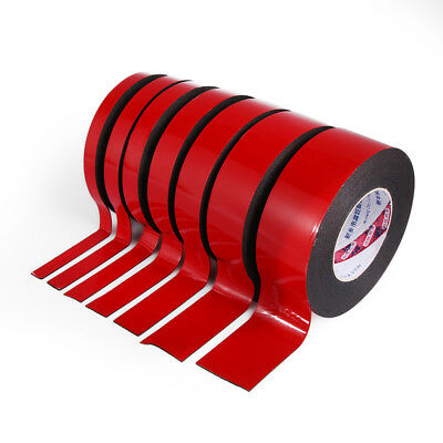 Truck Car Waterproof Adhesive Foam Double Sided Attachment Tape 5-50mm 10m
