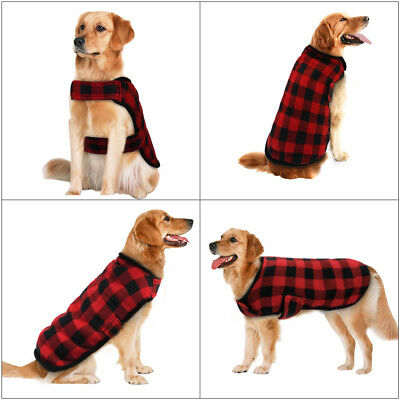Large Dog Winter Coat Cozy Dog Clothes Jacket Apparel Outfits Windproof Clothing
